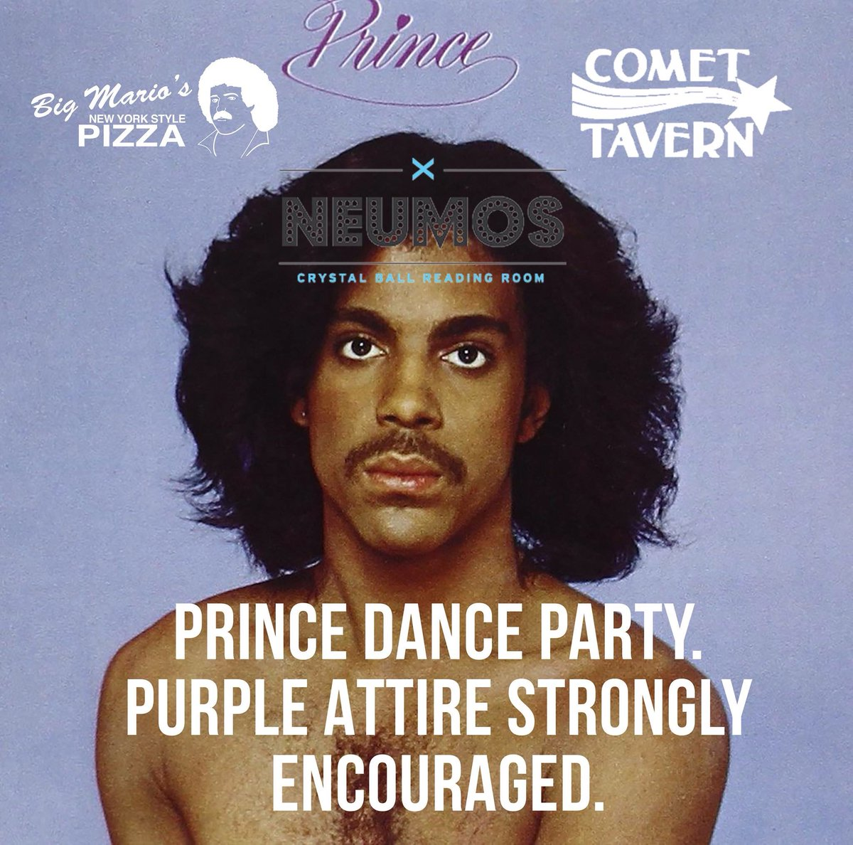 Prince street party tonight on Pike! Wear purple and get ready to get down. Music starts at 10pm! https://t.co/J2chvVfOs9