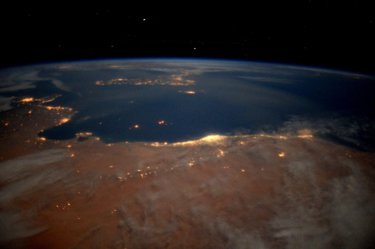 From Africa into the Med under a full moon