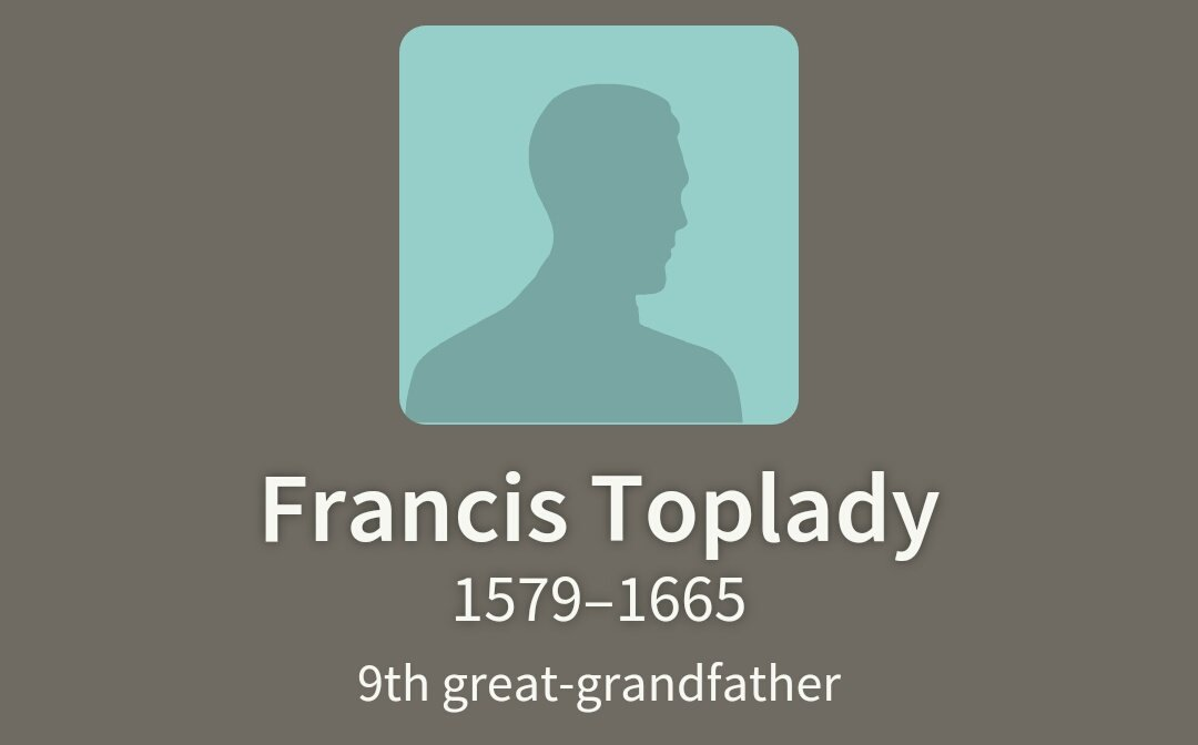 #Shakespeare16 Thoughts go to my 9th Great Grandfather Francis Toplady, Mayor of Nottingham 3 times Aged 37 in 1616 https://t.co/CjelRuP4TI