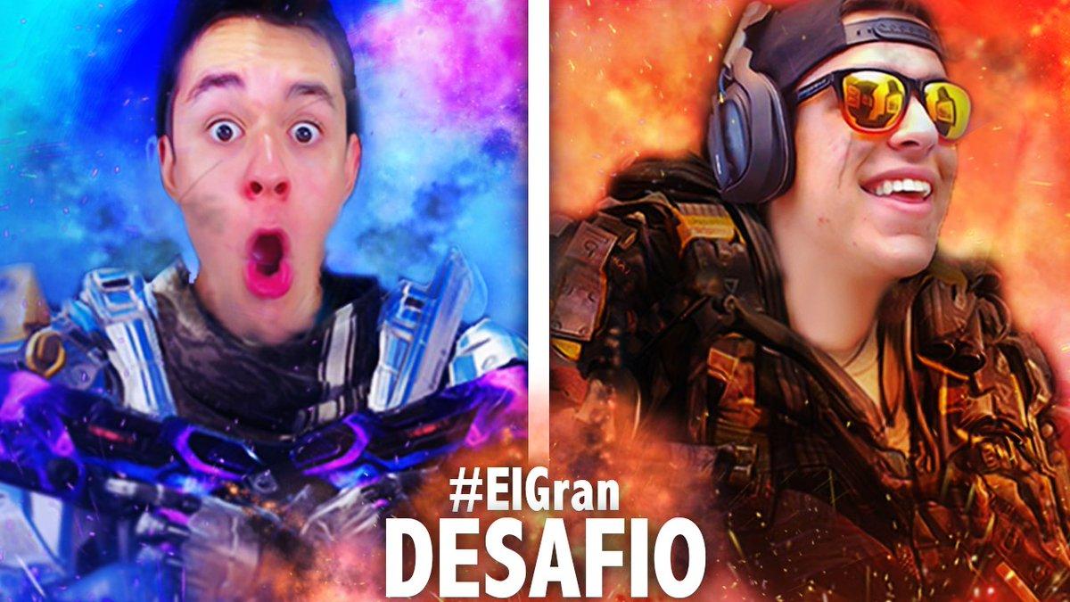 COMIENZA #ElGranDesafío 🔥🌋📢  RT!!! ❤💙💛 https://youtu.be/S02cZnySTqk