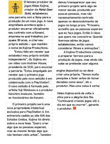 Hideo Kojima vira parceiro da Sony e vai fazer jogo exclusivo para Playstation 4 CgwTByJWgAAhCic