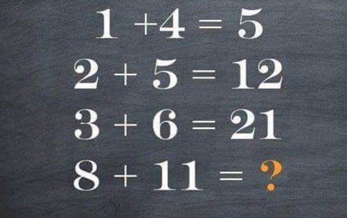 Rompicapo Quesito Matematico: chi può risolvere questo Enigma?
