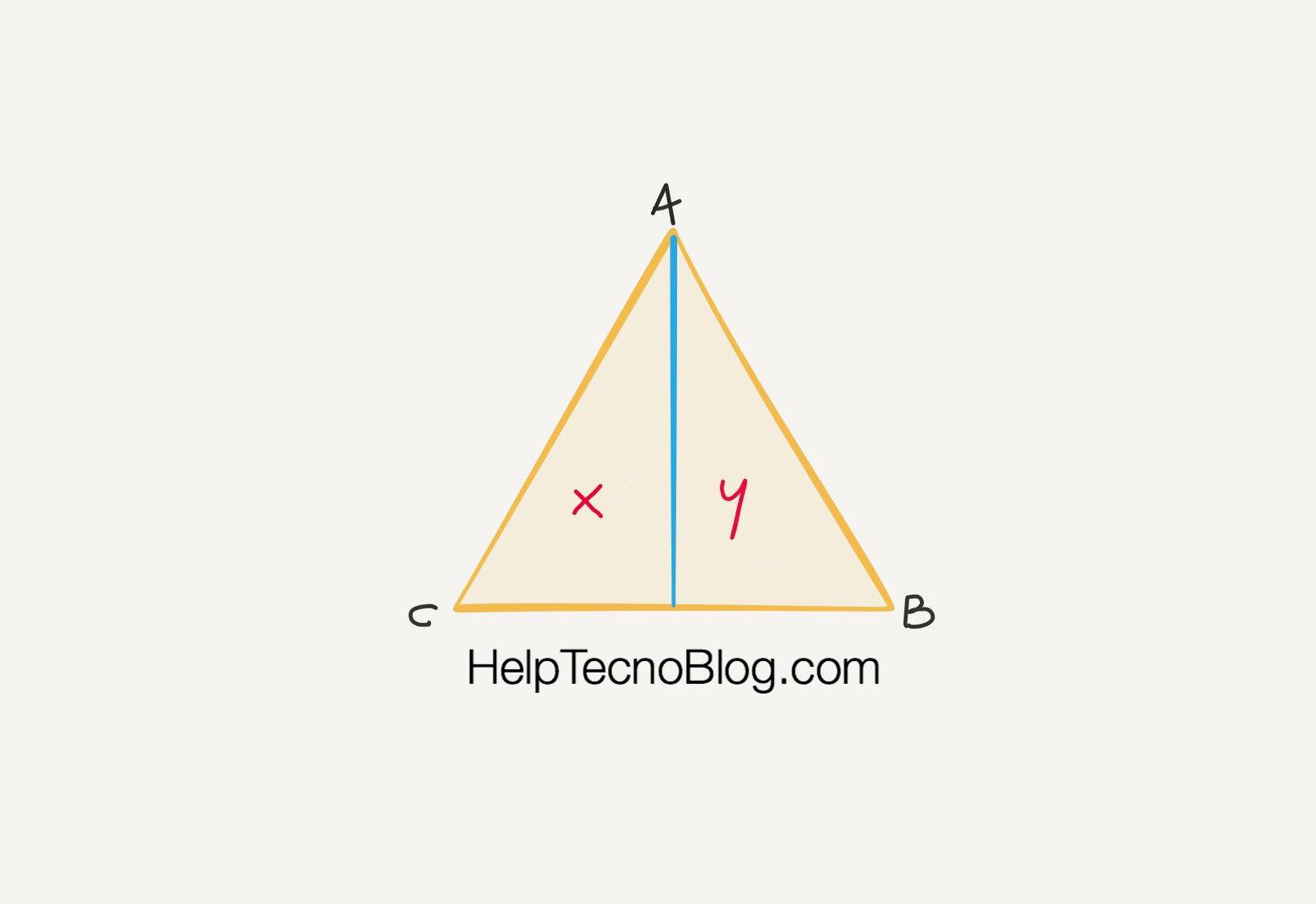 Come calcolare il perimetro del triangolo isoscele