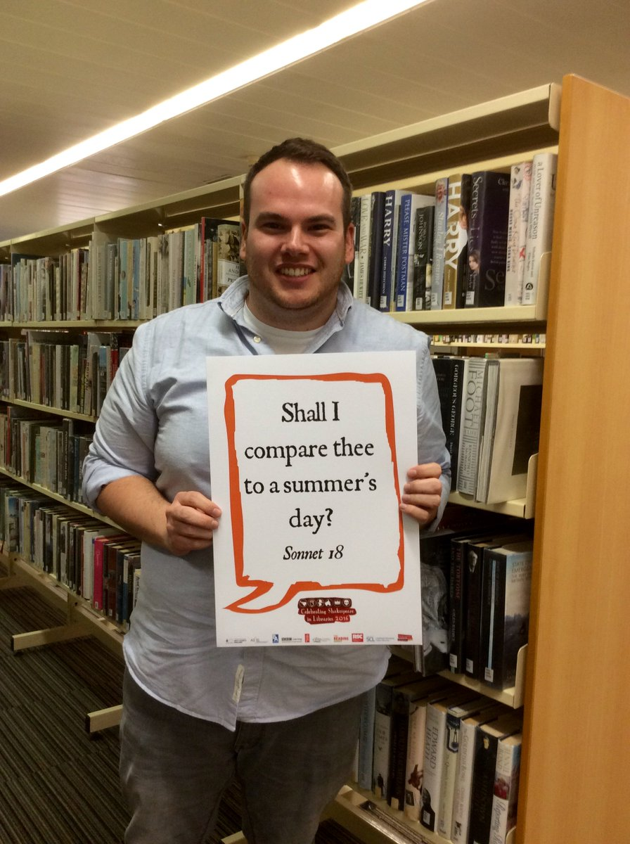 Please do.... we love summer days. Tell us your favourite quotes in Sunderland libraries today #Shakespeare16 https://t.co/9SM5eTaPFQ