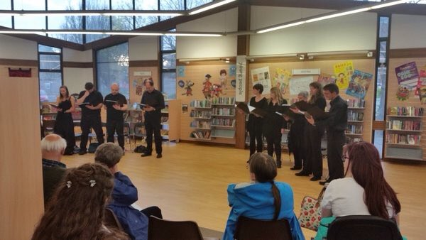 @lancspublib Shakespeare's Seven Ages at Morecambe Library this evening #shakespeare16 https://t.co/bCv9jyuYdO