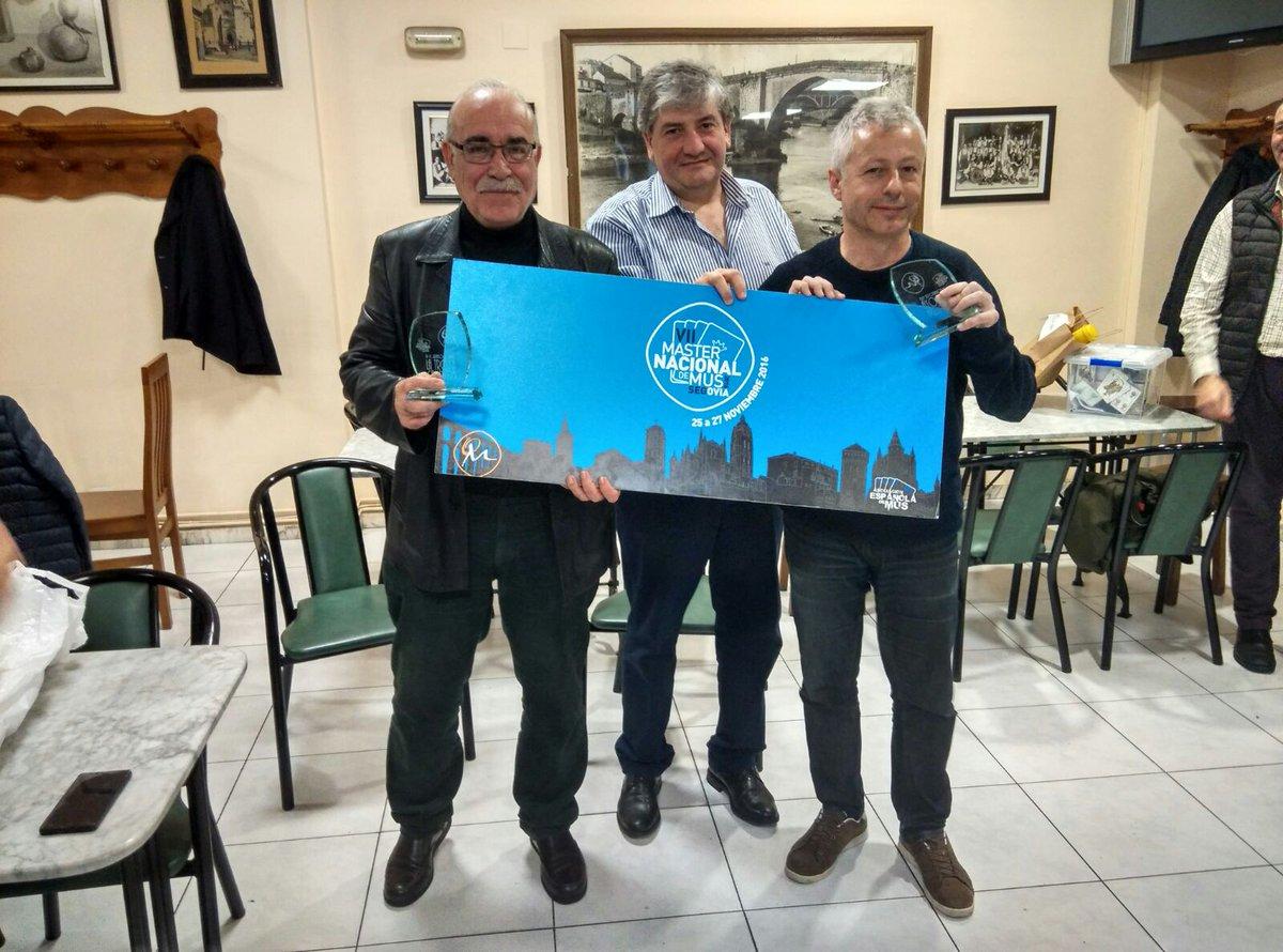 Trio, Campeones del III Torneo de Mus La Troya
