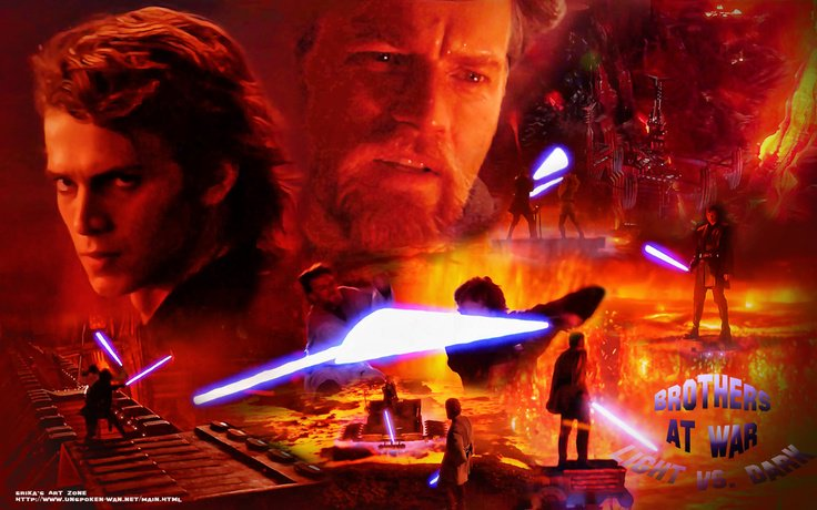 The Star Wars Report On Twitter I D Forgotten Just How Good The Starwars Revenge Of The Sith Anakin Vs Obi Wan Was And The Music Too