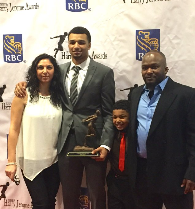 Picture of Jamal  Murray Mother, called Sylvia