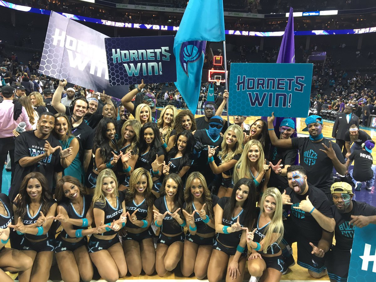 #BuzzCity with the playoff Win! https://t.co/VUMpad5kQ6