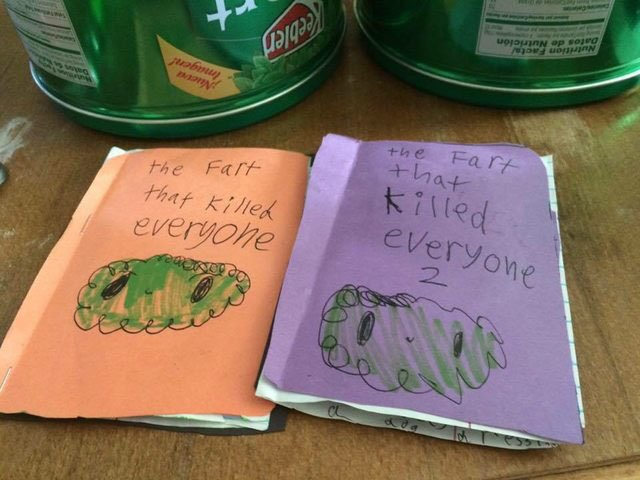 8-year old author grasps publishing fundamentals: 1. Choose a powerful subject 2. If book works--the sequel! https://t.co/gjDntL89ld