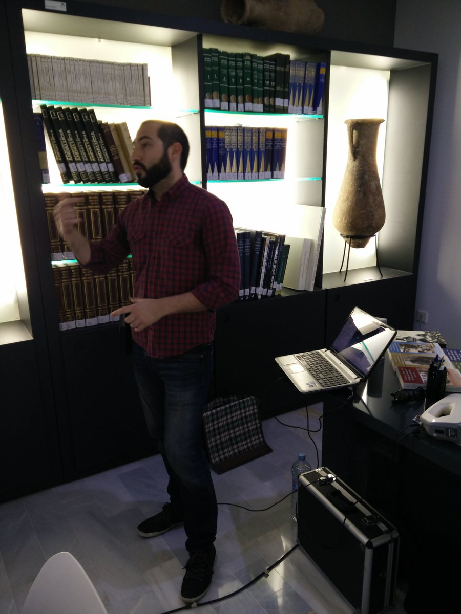 Lorenzo Jiménez es nuestro experto en digitalización 3D #ccALM https://t.co/jo4z5qdfHx