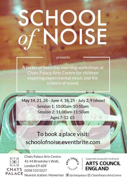 School of Noise Workshop Twitter
