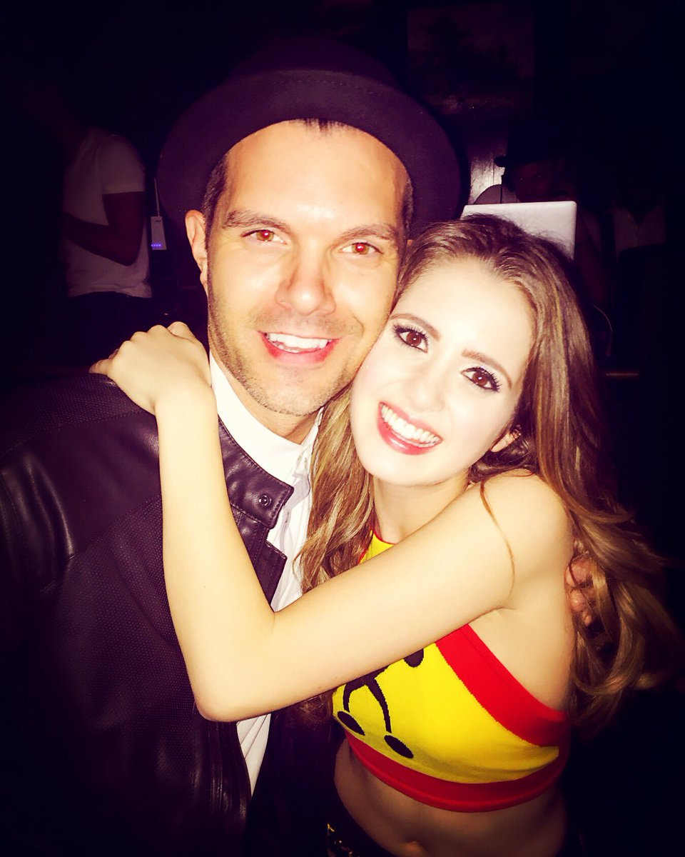 So proud of this girl!!! @LauraMarano destroyed that stage tonight...sooo proud!