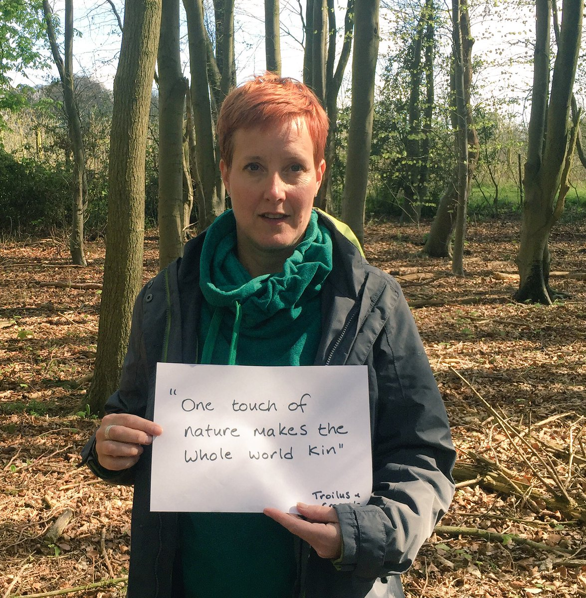 """One touch of nature makes the whole world kin"" #Shakespeare400 #Shakespeare16 @hantslibraries https://t.co/WNewQdy6sd"