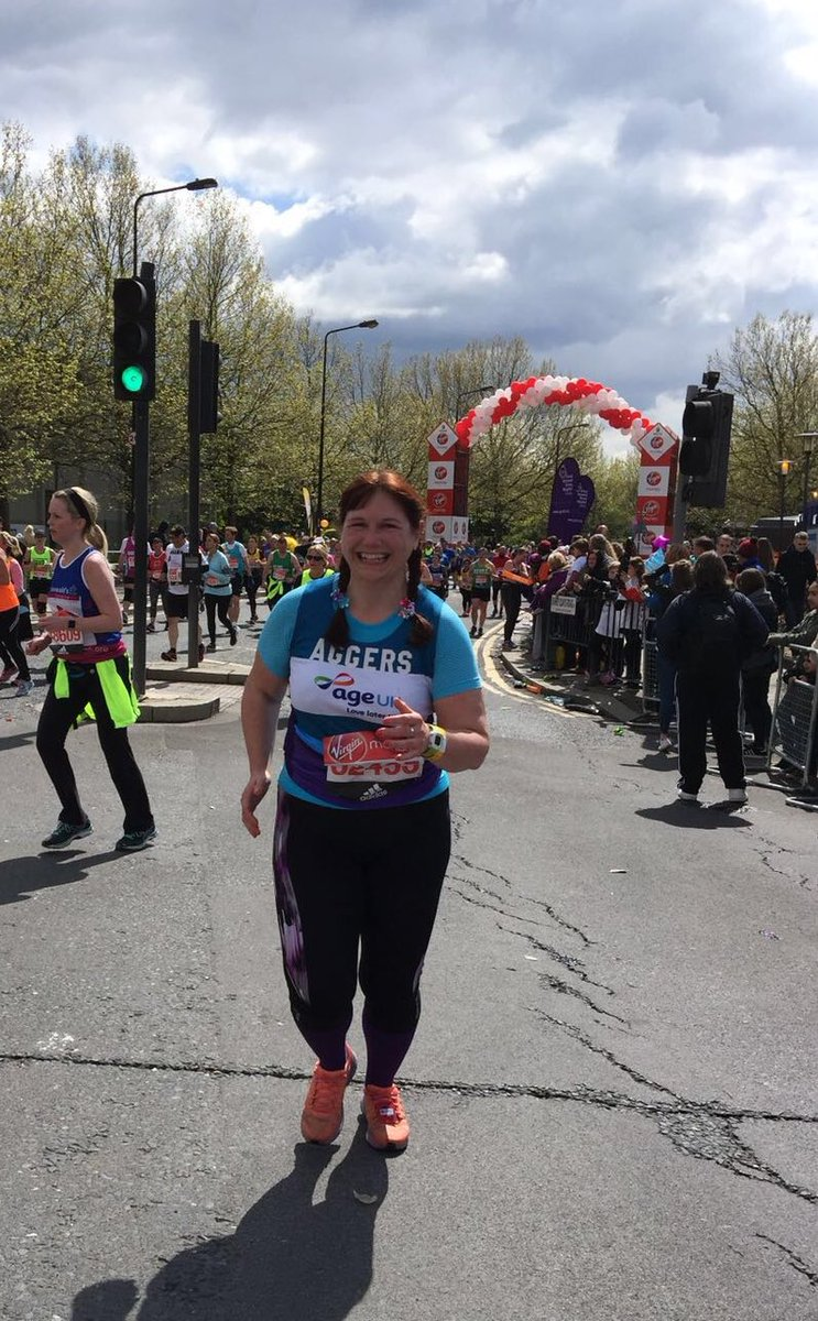 .@ClaireAgnewRN going past mile 9! Read why Claire's running for Age UK here: https://t.co/66z4YjFLWu https://t.co/qrbOnCDr8d