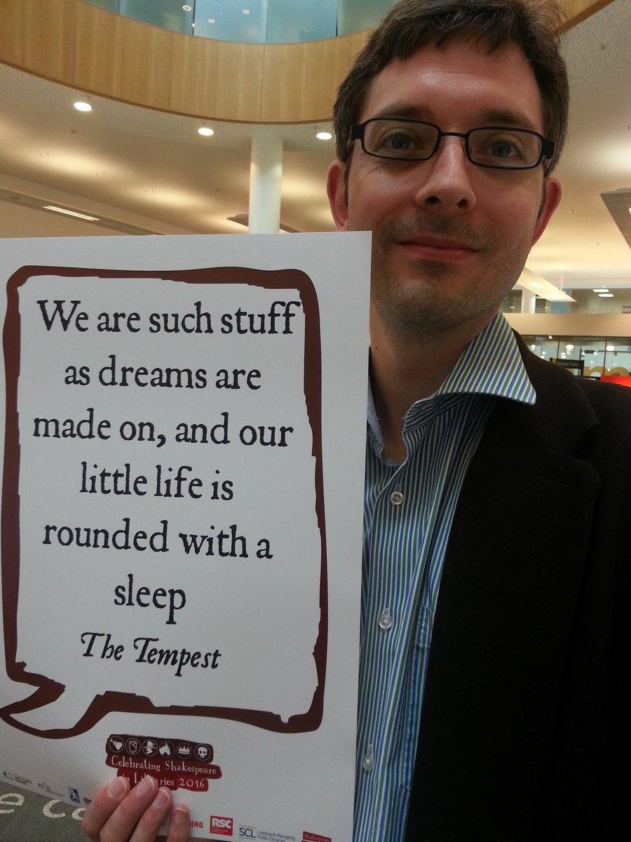#Shakespeare400 #ShakespeareSunday #Shakespeare16 #ShakespeareSelfie https://t.co/j7rOW1C7bE
