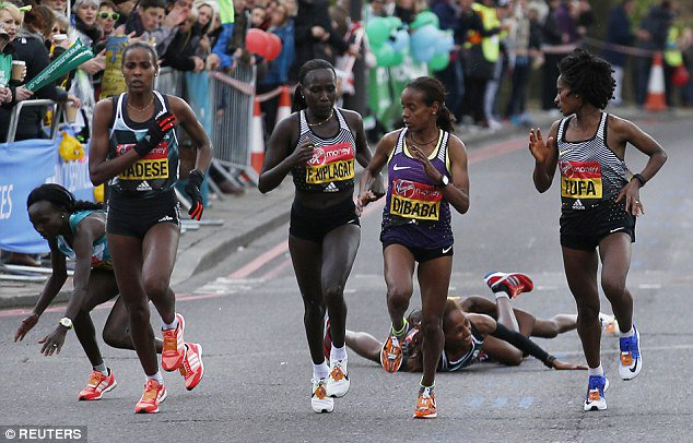 When Tha Man Above has set you to win no one can take it away from you. Jemima Sugong tripped at 23 miles,still won https://t.co/1ogQOF1Jv7
