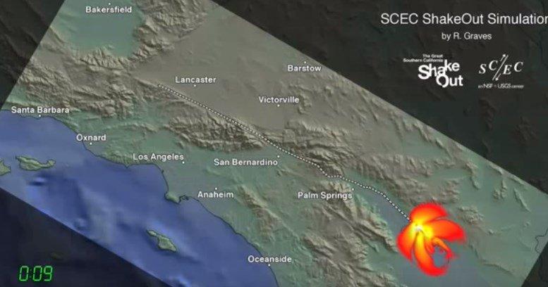È in arrivo un terremoto devastante in California