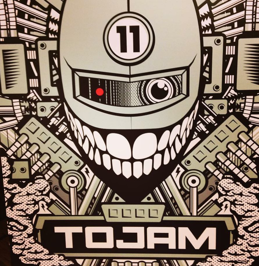 Seriously tho, I keep looking at this year's #TOJam poster because it's so hilariously goofy. https://t.co/BMFy0iFFAD