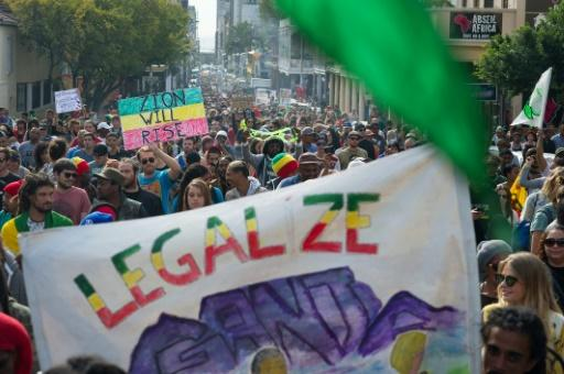 Thousands demand legalisation of cannabis in South Africa – Yahoo7