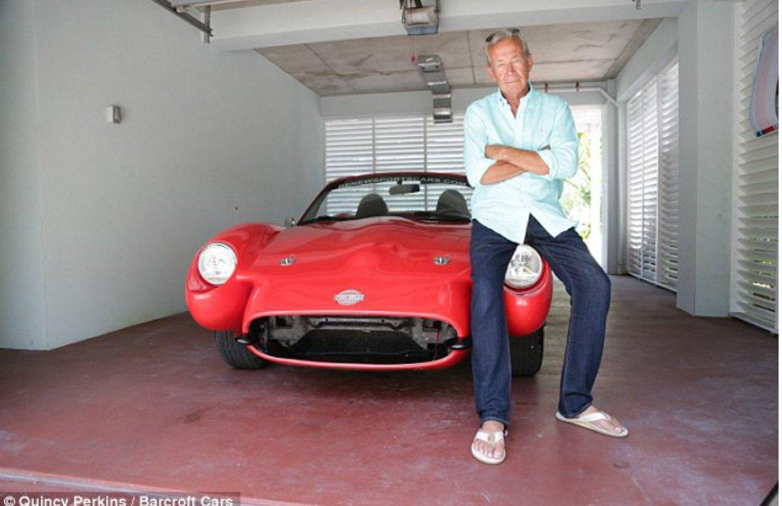 That's a SMOKING Hot Car! Florida Businessman Builds Environmentally Friendly Sports Car Made from Cannabis Hemp