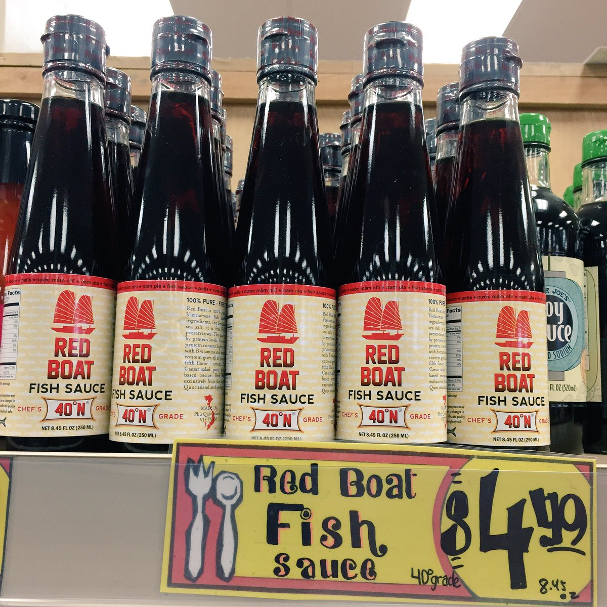 red boat fish sauce at trader joe 39 s bay area sf bay