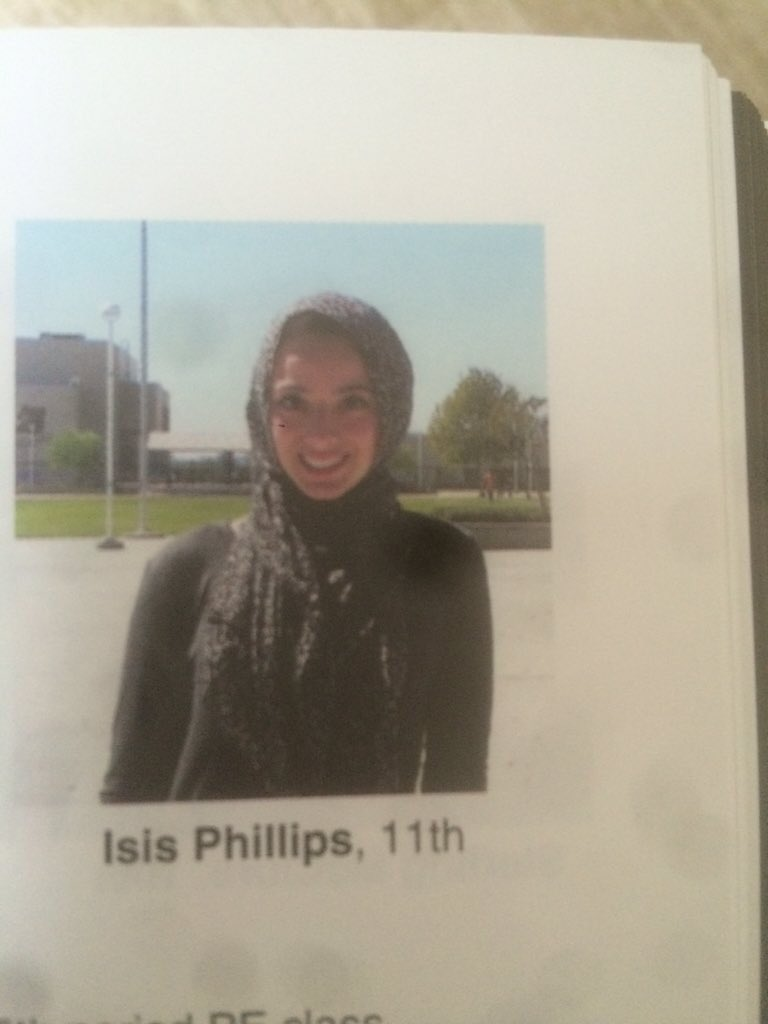 A Muslim Student Was Mislabeled as 'Isis' in Her School Yearbook