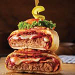 Image for the Tweet beginning: Pizza Burger