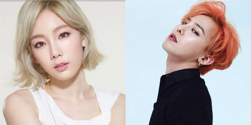 "allkpop on Twitter: ""Netizens compare G-Dragon and Taeyeon's ..."