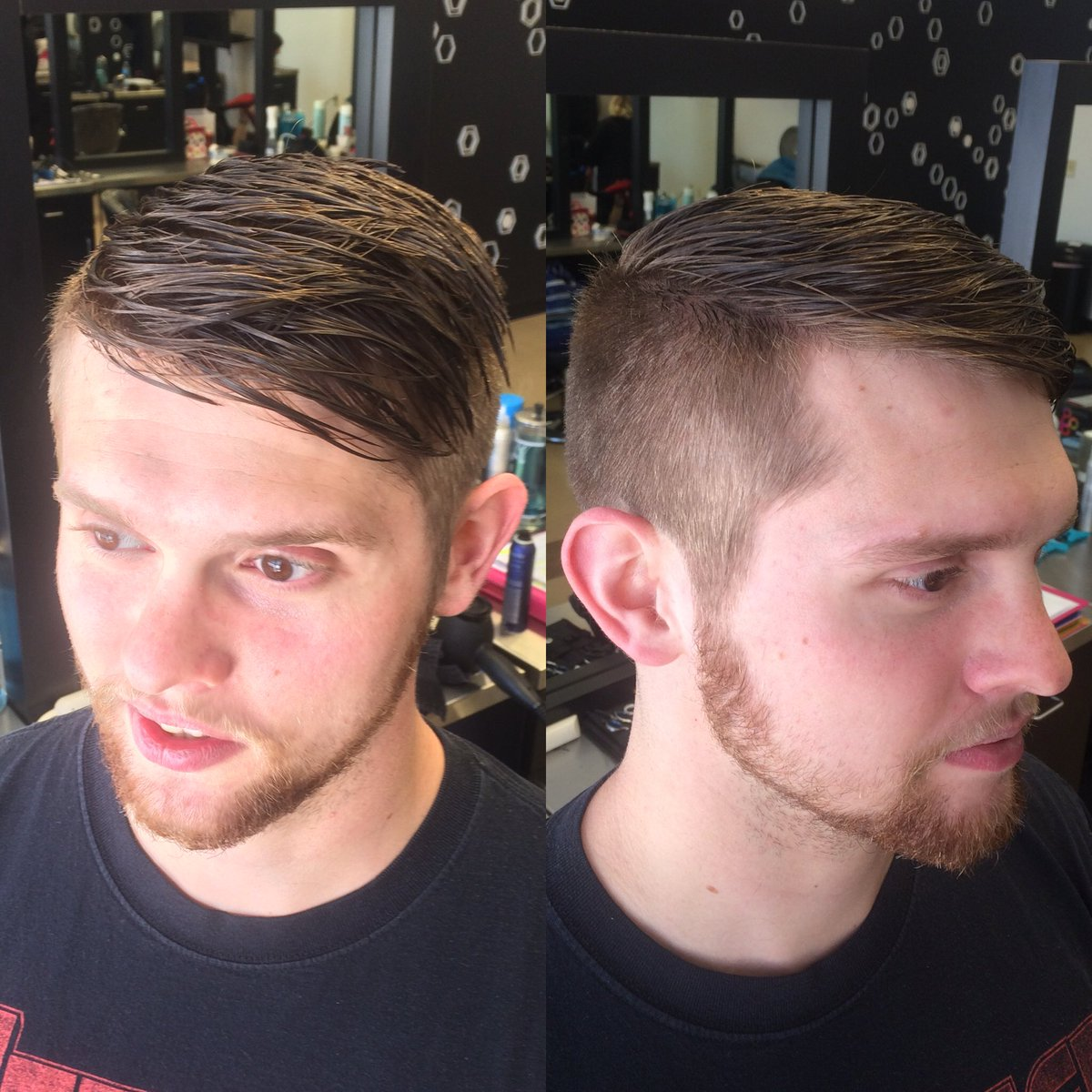 Char On Twitter Men S Haircut To Create Texture And Trim Around The Ears And Neck Hair Haircut Barber Menshaircut Mens Style