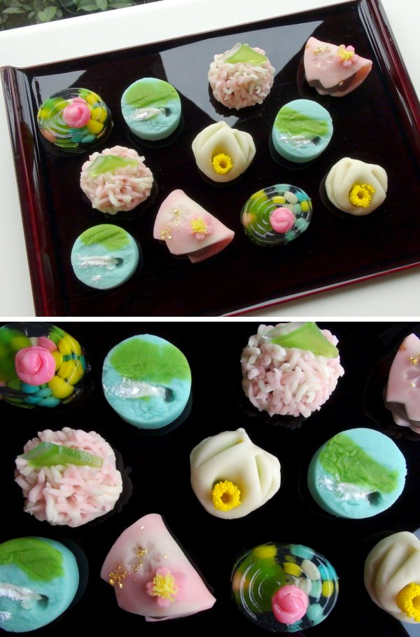 山種美術館×老舗菓匠・菊家のコラボレーション和菓子はもう一つの芸術品。今回展の和菓子は春らしい色彩も美しく、並べるとブーケのような華やかさです!テイクアウトも可能なので、全5種類を目でも舌でもお楽しみくださいね。(山崎)