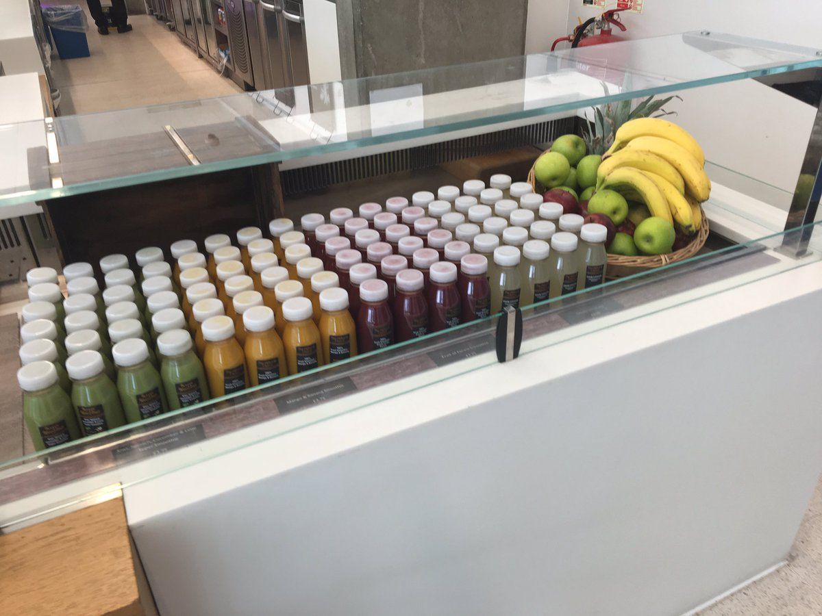 Summer is finally here.. Introducing our new smoothie& juice range from @OrankaUK at NMM @elioruk https://t.co/up02owiFnl