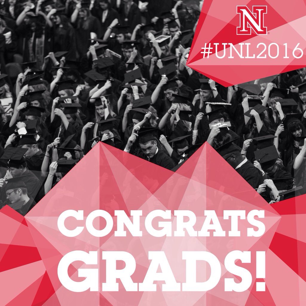 UNL graduates at commencement image