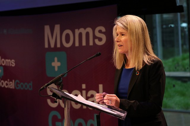 """We're here to lift up all voices so no one is left behind."" @Susan_E_Myers / @unfoundation #GlobalMoms https://t.co/2wD8HX3bxz"