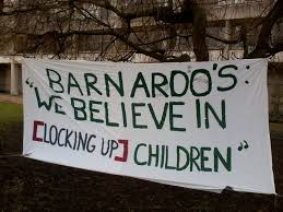 #ShutThemDown day of action across the world. Will @barnardos finally stop its complicity in detaining children? https://t.co/REV7dtqoyw