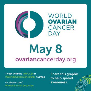 Tomorrow is #WorldOvarianCancerDay – a day dedicated to raising awareness about #ovariancancer. Spread the word! https://t.co/lI4wCOyZWL
