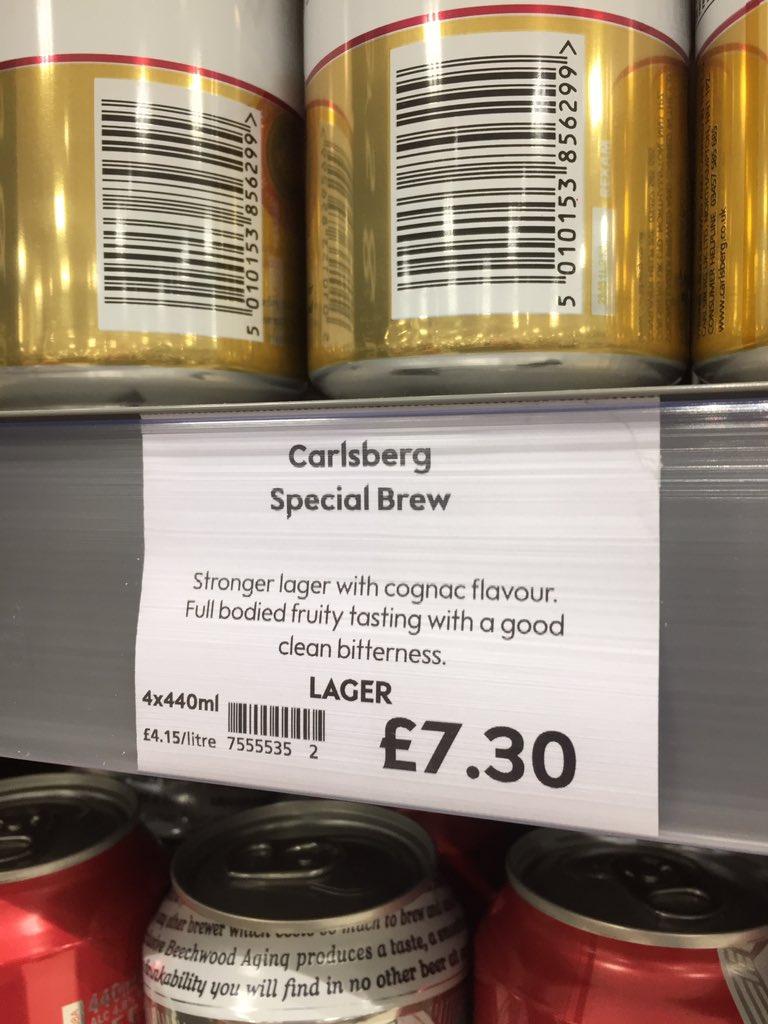 RT @mewo2: Peak Waitrose: tasting notes for Special Brew https://t.co/t1QDIZvDPa