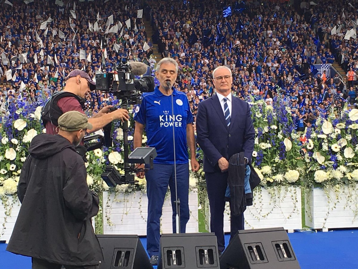 Thank you #Leicester and congratulations #LeiEve @LCFC https://t.co/JCdw8S8IvW