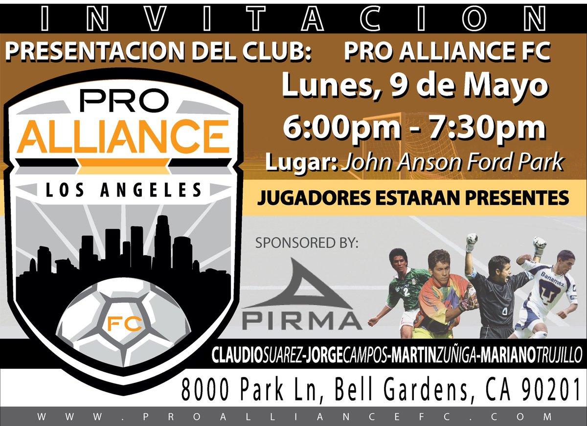 Pro Alliance FC ProAFC Twitter