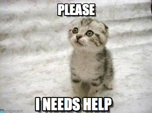 HELP HELP HELP PLEASEEEE !?