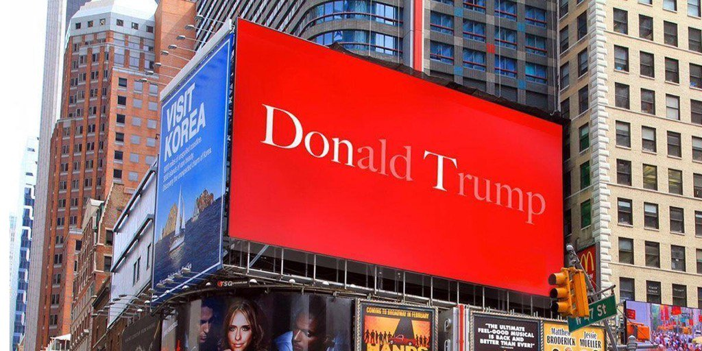 Congrats @TheEconomist . Self-explanatory Billboard in NYC https://t.co/WbVSMb31is