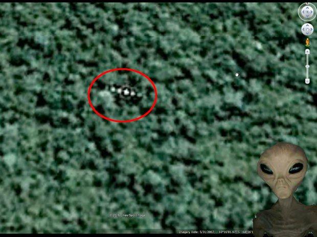 Google Earth: Ufo nelle Amazzoni resta un mistero