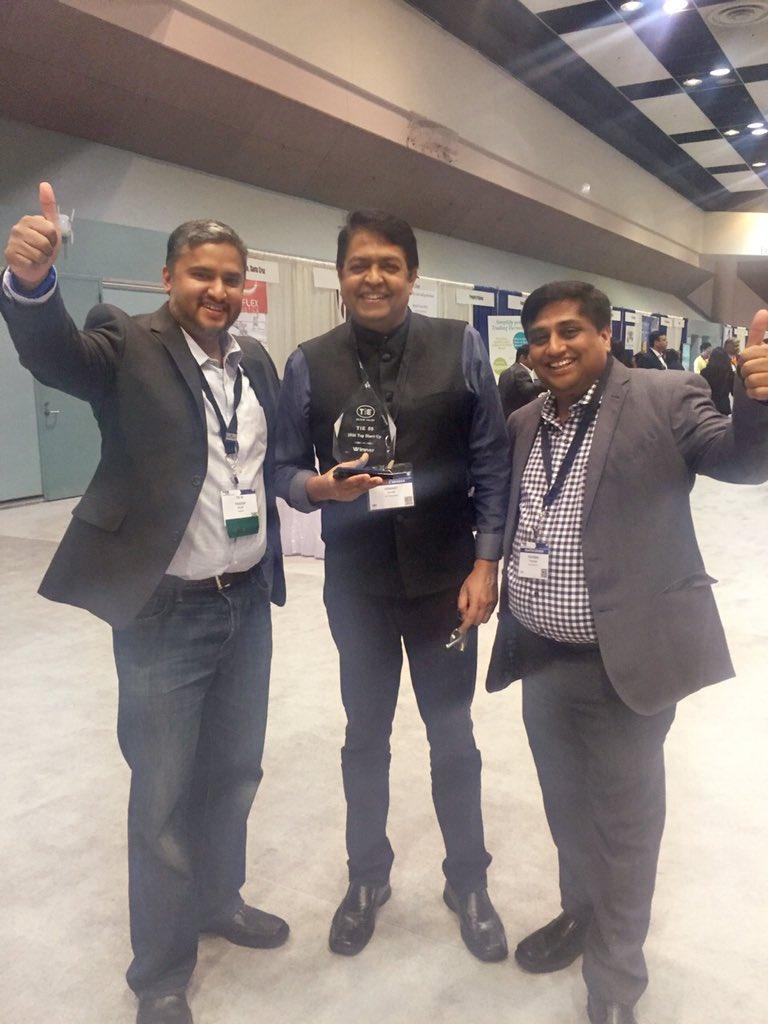 @Hexanika @yogpandit and @HumaU with @devendradesh at #tiecon2016 #tie50 https://t.co/doBIlV5MmH