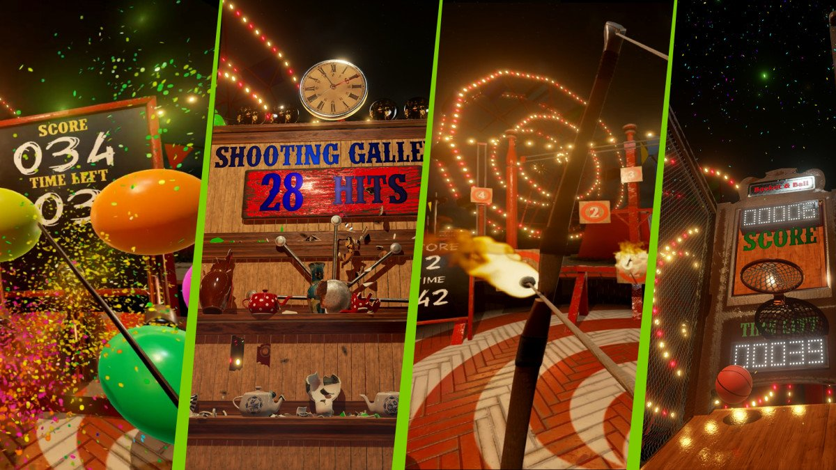 Our First Virtual Reality Experience, VR Funhouse, Shows What Pascal Can Do for VR
