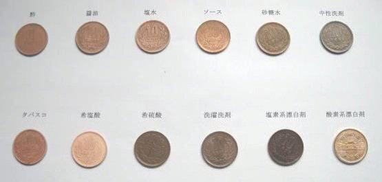 10 円 玉 を きれいに する 方法