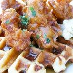 Image for the Tweet beginning: Chicken 'n Waffle