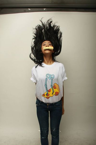 Ready Stock T-shirt dari FuzzyWuzzy 'PIZZA TILL I DIE' yang minat atau tanya2 langsung mention aja.
