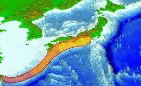 南海トラフでマグニチュード8から9の地震が発 生する確率は70%から80%であると  there is a 70% to 80% chance of a...