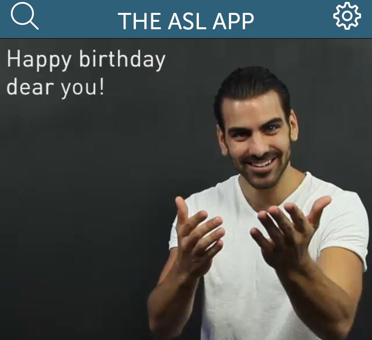 The Asl App On Twitter Wishing A Very Happy Birthday To