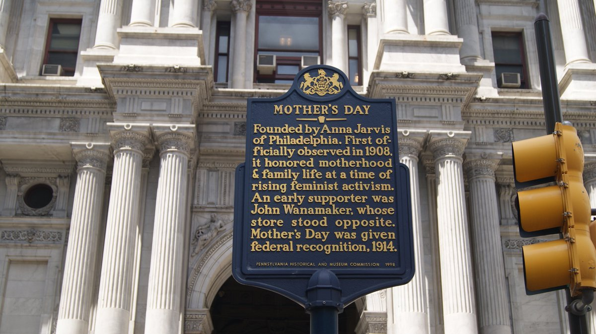 From what started in this great city in 1908 is now a national holiday! Happy Mother's Day Philadelphia! https://t.co/Ng194cCOVv